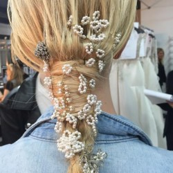 Hair fashion from Spring 2016 Runaway