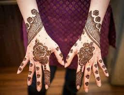 Beautiful Mehendi Looks - Indo Arabic