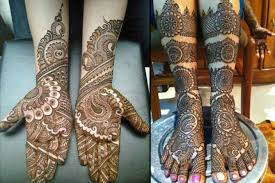 Beautiful Mehendi Looks MArwari